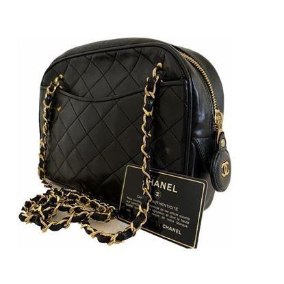 Image of Chanel classic crossbody ziptop camera bag
